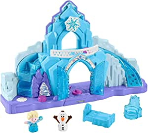 Fisher-Price GGV29 Disney Frozen Elsa's Ice Palace by Little People