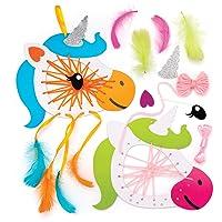 Baker Ross Kits de atrapasueños de unicornios (Paquete