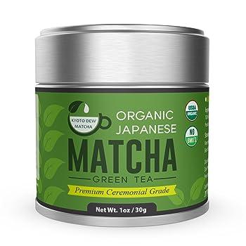 Kyoto Dew Matcha Organic Premium Japanese Matcha Tea