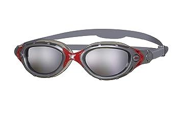 47ecf8943 Zoggs Predator Flex Gafas de natación, Unisex Adulto, Plata/Espejo/Humo:  Amazon.es: Deportes y aire libre