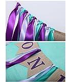 Youzpin Newborn 1 Years Old Birthday Ribbon Linen