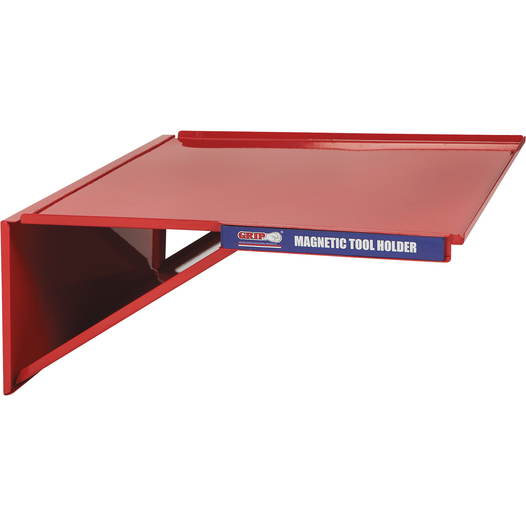 Grip Folding Toolbox Tray with Magnet - 18.25in.L x 16.85in.W x 7.5in.H, Model# 67479