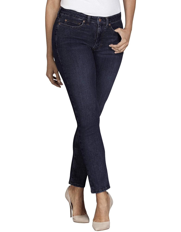 dickies Womens Perfect Shape Denim Jean Curvy Skinny Stretch Jeans