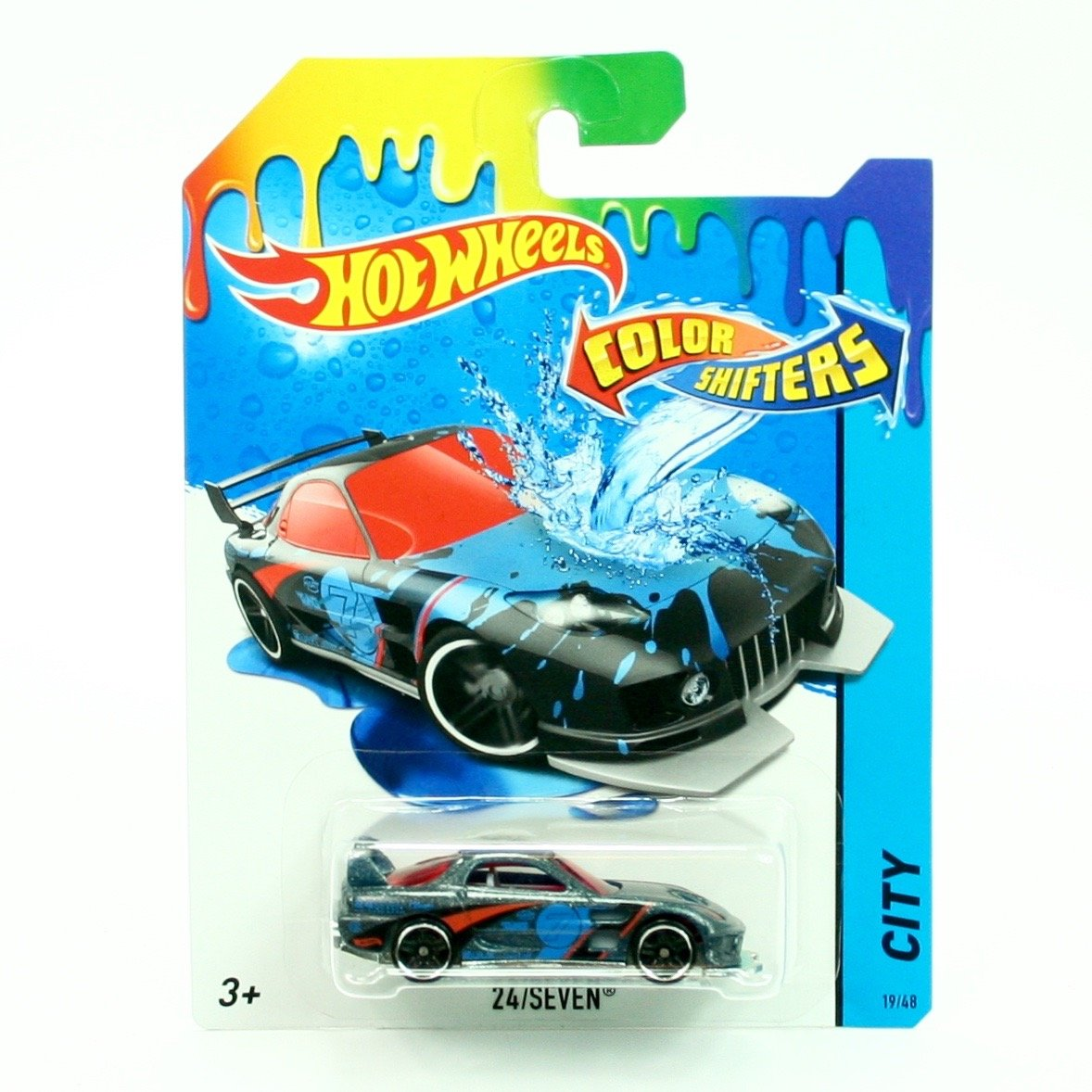 24/SEVEN  COLOR SHIFTERS  2015 Hot Wheels City Series 1:64 Scale Vehicle  19/48 by Hot Wheels