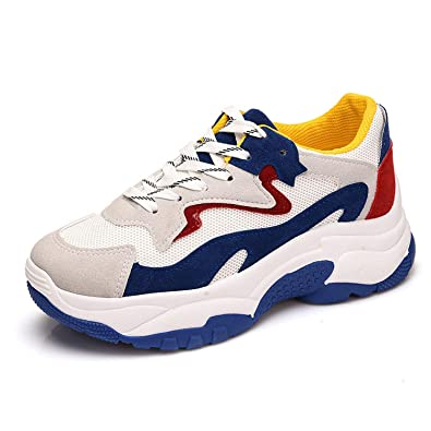 For What Reason Shoes Female 2018 Autumn New Womens Shoes Casual Sports Shoes,Blue,