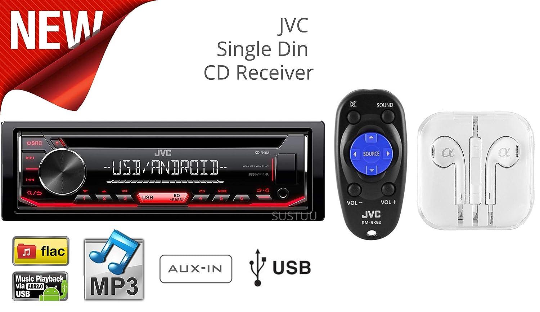 JVC Mobile KD-X31MBS Marine/Motorsports Receiver KD-R492 + ALPHA