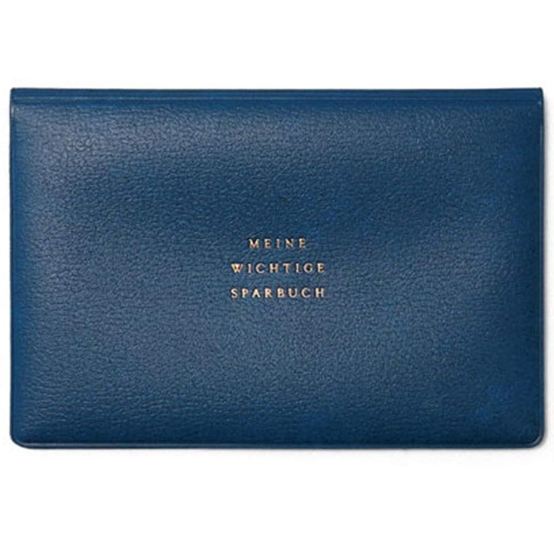NAVY Hightide Classic Horizontal Passport Case Cover Wallet