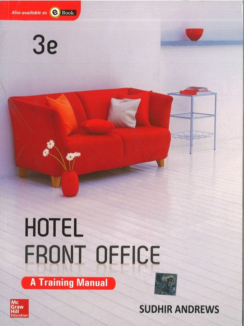 Buy Hotel Front Office: A Training Manual Book Online at Low Prices in  India | Hotel Front Office: A Training Manual Reviews & Ratings - Amazon.in