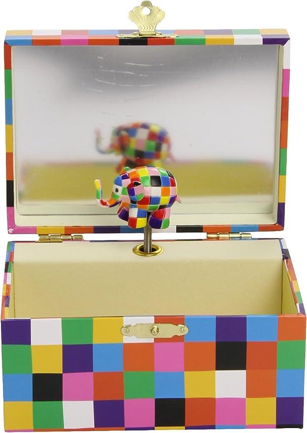 Trousselier - Caja de música, diseño Elmer (Trousselier S91064 ...