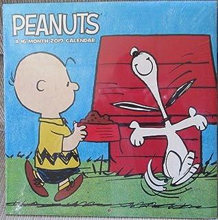 Amazon.com : Peanuts 2019 Monthly Calendar - Twelve Months ...