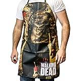 Walking Dead Zombie Torso Walker Print Apron