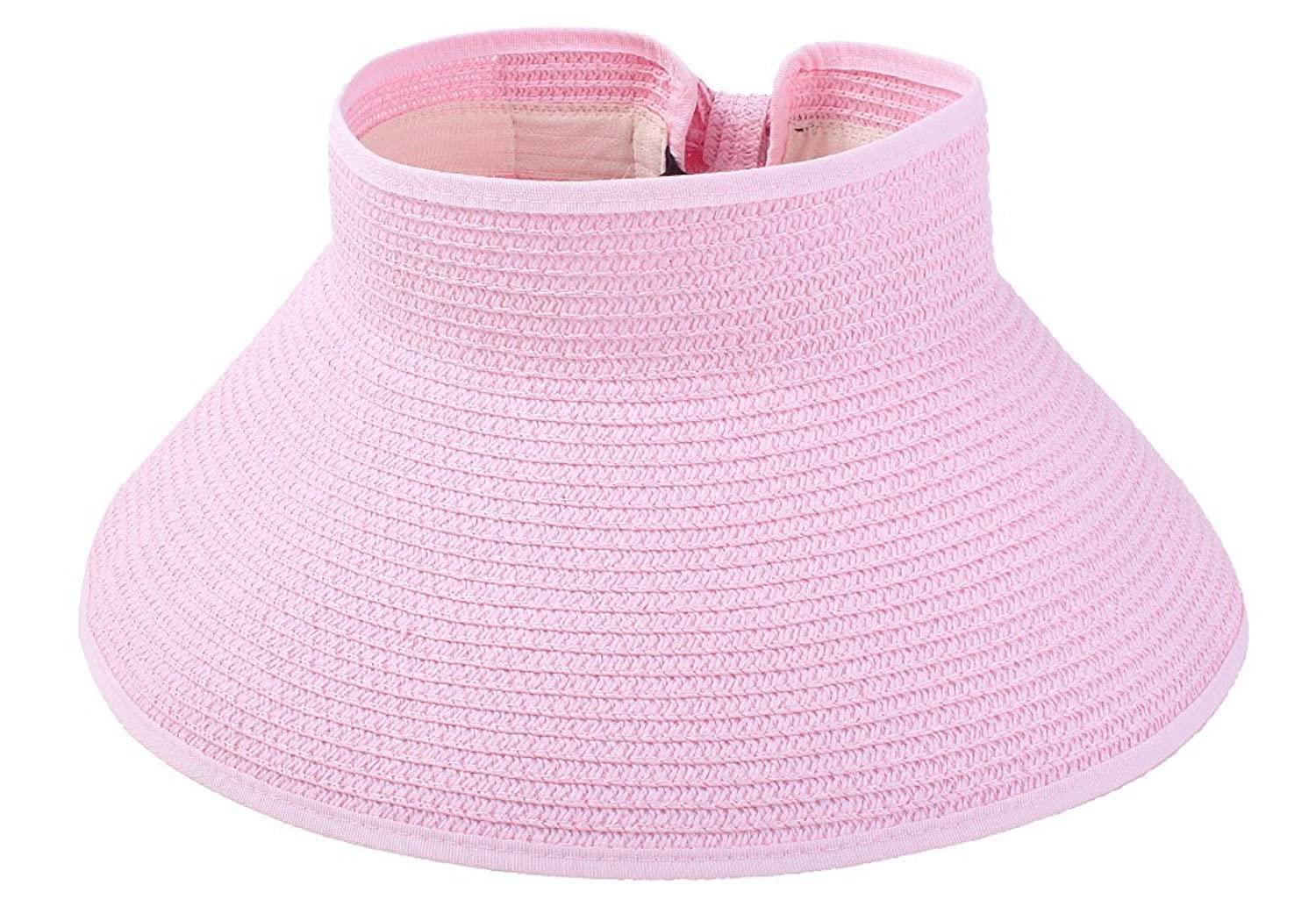 FOONEE Women Wide Trim Bohemia Straw Foldable Sun Hat