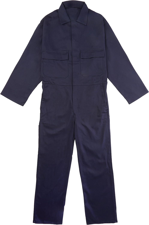 Size: 3X-Large Regular Black Portwest S998BKRXXXL Euro Work Cotton Coverall