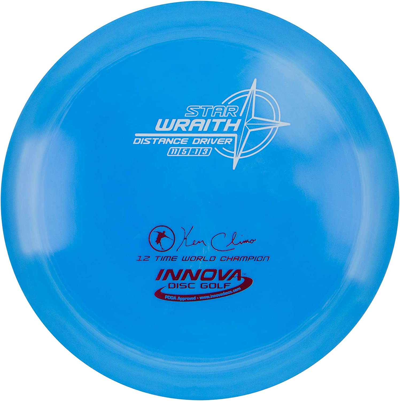 Innova - Champion Discs Star Wraith Golf Disc, 173-175gm (Colors May Vary)