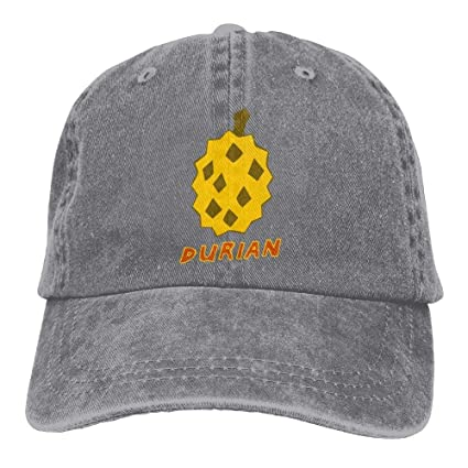 9b3966167c155 Amazon.com  SweetieP Durian Juice Denim Hat Adjustable Women Plain Baseball  Hats  Sports   Outdoors