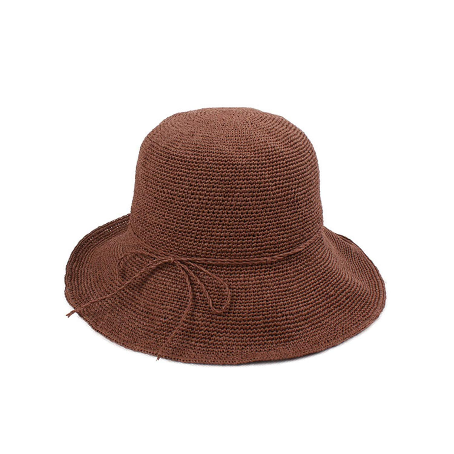 Mastojonster Straw Bucket Hat Women Sun Hats for Ladies Packable Hats  Crochet Hat 1 57Cm at Amazon Women s Clothing store  747e16bf119