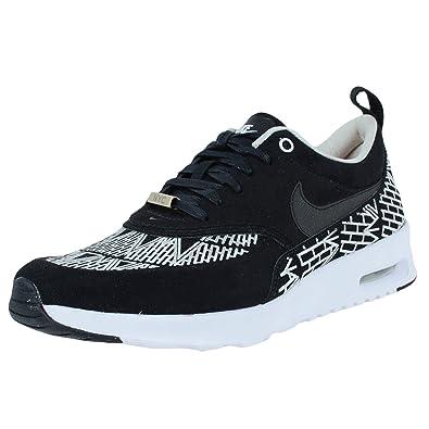 e34b9b8489 Nike Womens WMNS Air Max Thea LOTC QS NYC Black/White Fabric Size 10:  Amazon.in: Shoes & Handbags