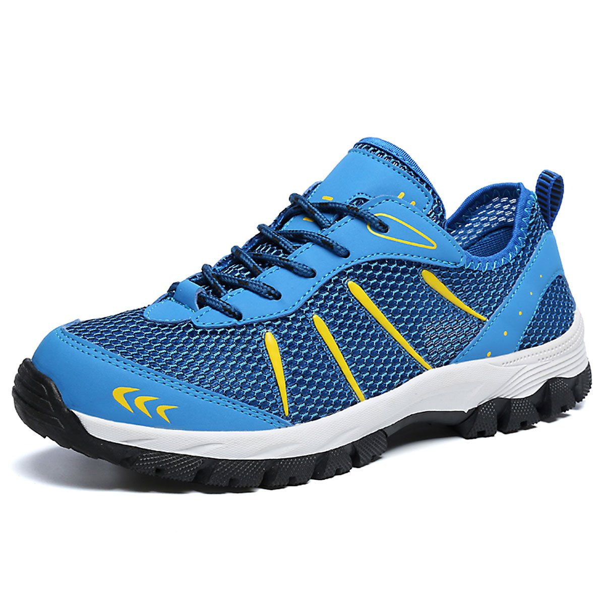 CHNHIRA Men's Trainers Breathable Sneakers Lace UP Soft Climbing Hiking Shoes Sports LT