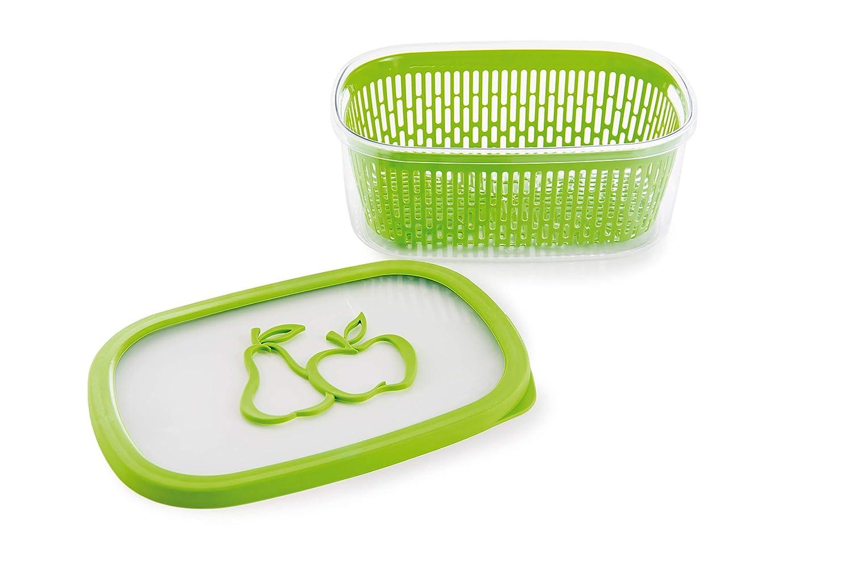 Snips Recipiente con Aroma a Frutas Color Verde pl/ástico 4/l