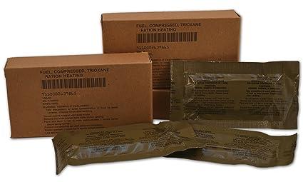 Amazon.com   U.S. Military Fire Starter Trioxane Fuel Bars   Camping ... 2f86561c3c3