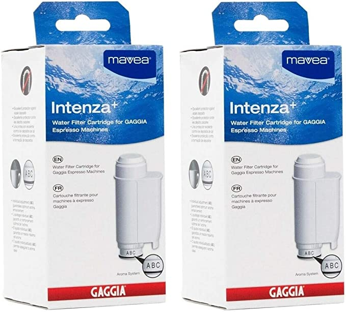 Amazon.com: Intenza Mavea Water Filter for Gaggia Espresso Machines- Double Pack: Coffee Machine And Espresso Machine Cleaning Products: Kitchen & Dining