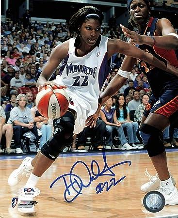 Demya Walker Autographed Signed 8X10 Photo Wnba PSA/DNA ...