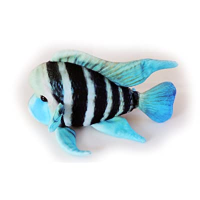 GreenPleco Frontosa Cichlid Plush 12 inches: Toys & Games