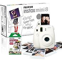 Câmera Fujifilm Instax Mini 8 - Foto Instantânea - Azul