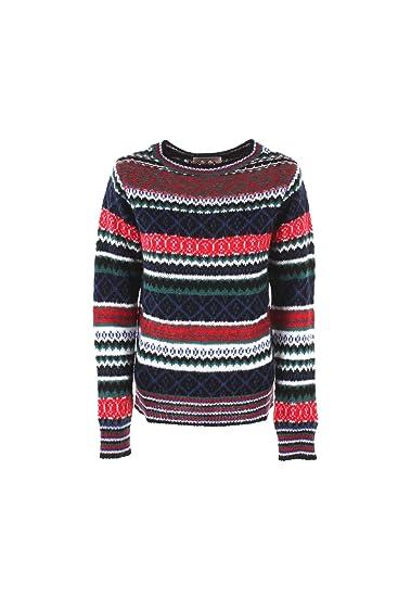 487a0b3df16b KAOS Maglia Donna XS Multicolor Kijfp019 Autunno Inverno 2018 19   Amazon.co.uk  Clothing