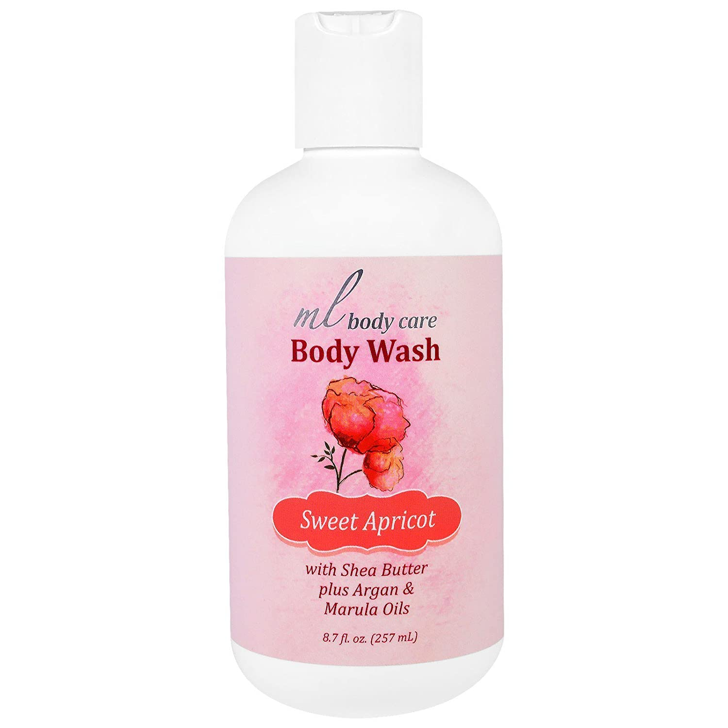 Madre Labs Body Wash Sweet Apricot Cleansing With Argan Oil Marula Oils Shea Butter 8 7 Fl Oz 257 Ml Health Personal Care