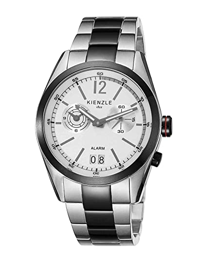 Kienzle K3071121062-00087 - Reloj analógico de cuarzo para hombre con correa de acero inoxidable