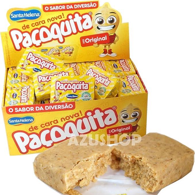 ピーナツ菓子/パソキッタ Pacoquita/1000g(20g×50個)/ブラジル