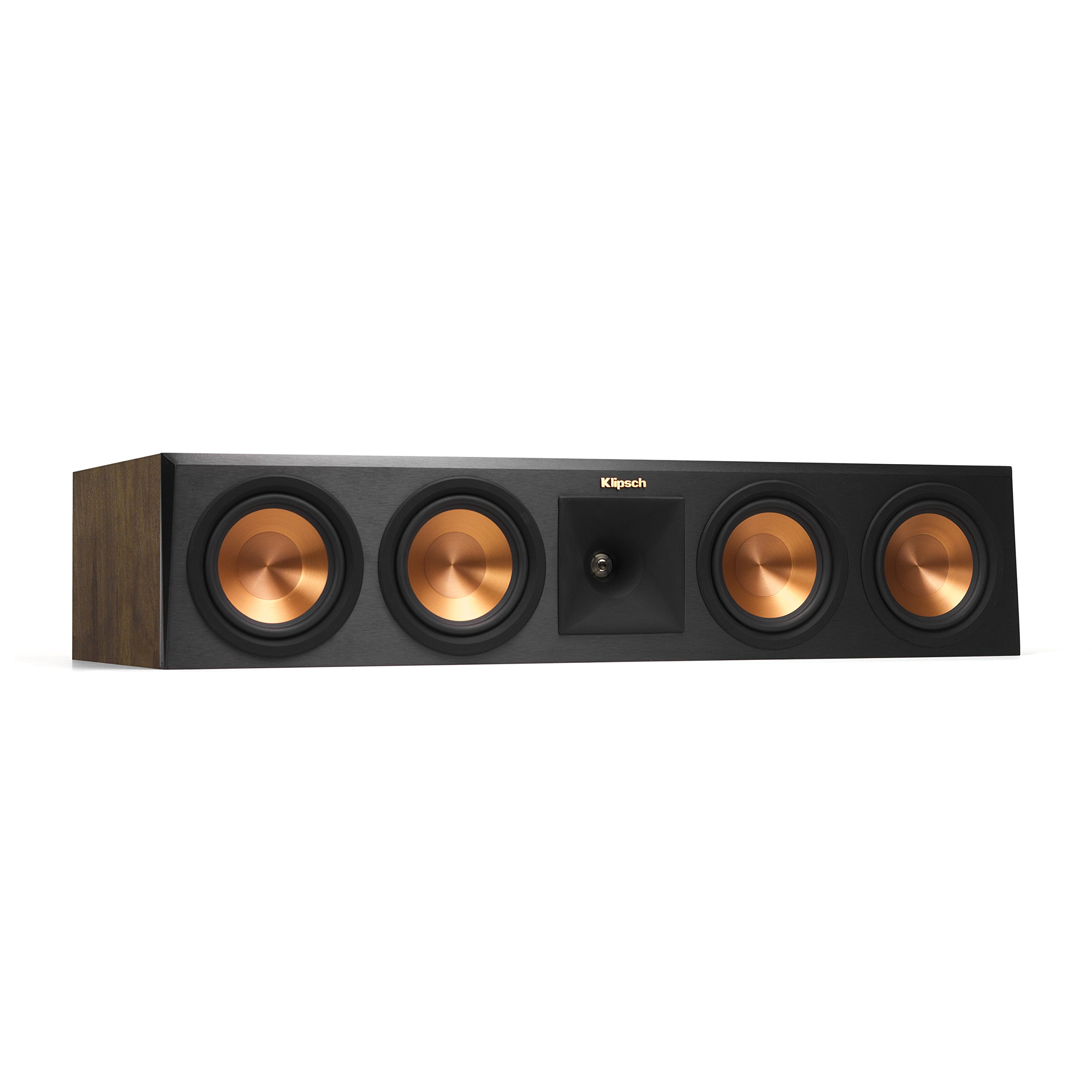 Klipsch Reference RP-450CA  Premiere Dolby Atmos Center Channel Speaker, Walnut