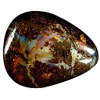 22.56 ct Pear Shape (25 x 20 mm) Play of Colors Australian Koroit Boulder Opal Natural Loose Gemstone