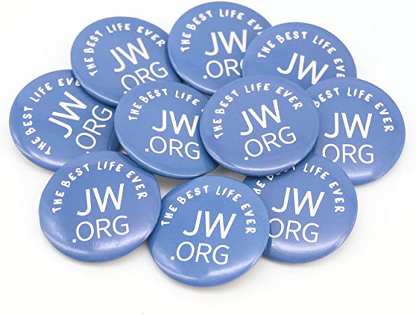 The Best Life Ever Button JW.org Pins Round Jw.org Buttons - Best Lift Ever 1.5 Inch Button, 10 Pack: Arts, Crafts & Sewing - Amazon.com