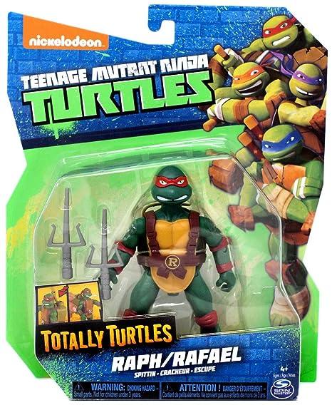 Teenage Mutant Ninja Turtles Nickelodeon Totally Turtles Spittin Raphael Action Figure