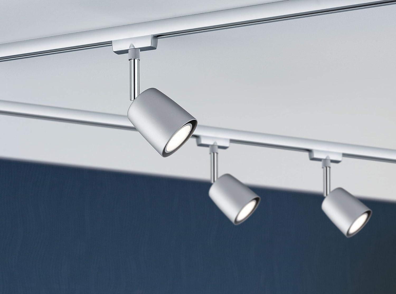 URail System Light /& Easy Base System max 1000W 230V matt Chrome Metal