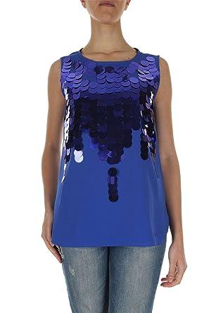 7ec7f429e11163 Liu Jo Jeans Damen Pullunder blau hellblau 34: Amazon.de: Bekleidung