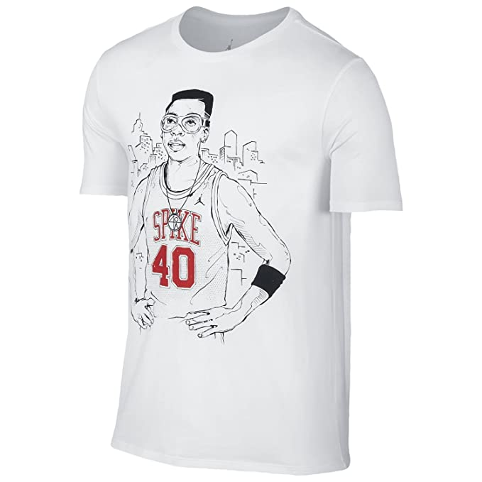 reputable site b8561 a2052 Image Unavailable. Image not available for. Color  Men s Air Jordan Spike  40 T-Shirt ...