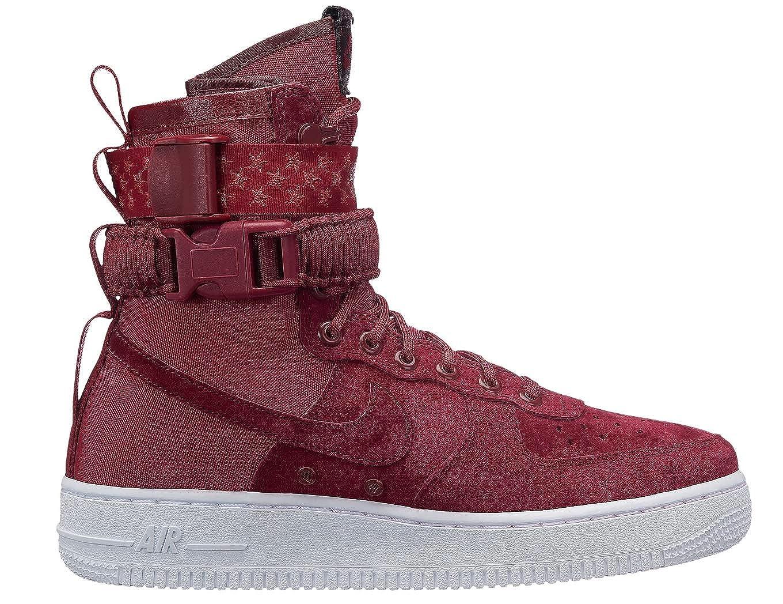 Mehrfarbig (rot Crush rot Crush Weiß Burgundy Crush 601) Nike Damen W Sf Af1 Basketballschuhe