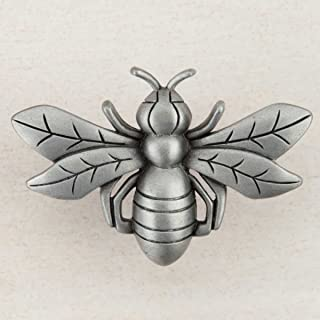 product image for Acorn Manufacturing DQ7PP Artisan Collection Bee Knob44; Antique Pewter