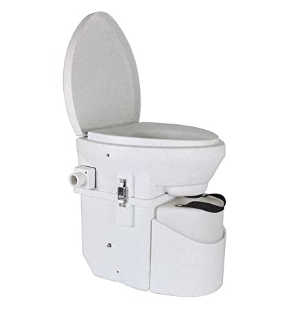 Natureu0027s Head Self Contained Composting Toilet With Close Quarters Spider  Handle Design