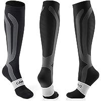 CAMBIVO 3 Pares Medias de Compresion Mujer y Hombre, Calcetines Compresivos, Calcetines de Compresion para Running…