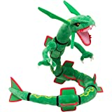 """Pokemon Center XY Japan 31"""" Rayquaza Stuffed Plush Doll(Discontinued by manufacturer)"""