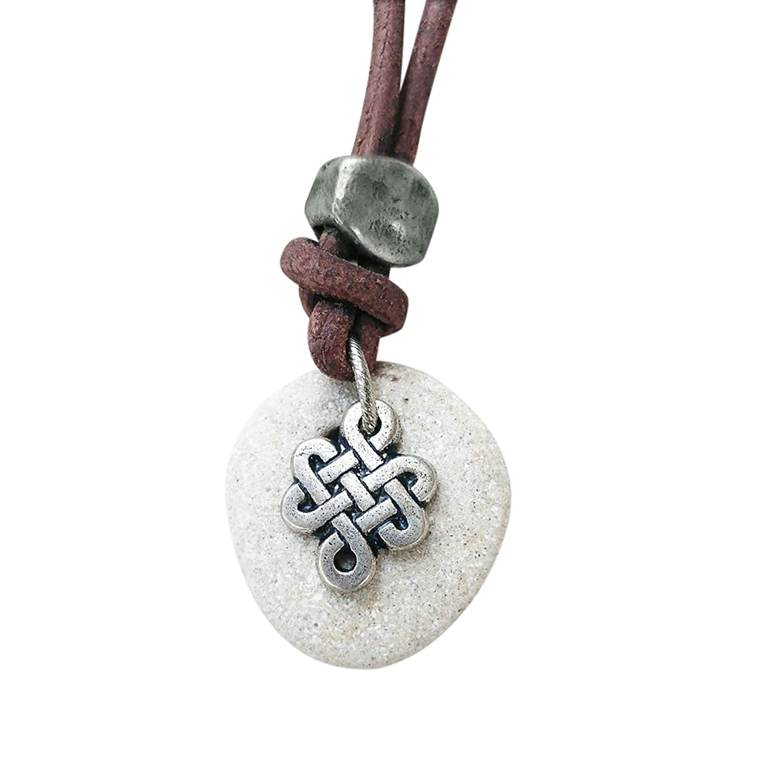 Amazon Com Natural Healing Hag Stone Necklace For Men And Women With Celtic Knot Spiritual Jewelry Handmade 37min | short, mystery | 2017 (usa). natural healing hag stone necklace for men and women with celtic knot spiritual jewelry