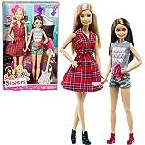Barbie - Familia 2-Pack Muñecas Barbie y Hermana Skipper