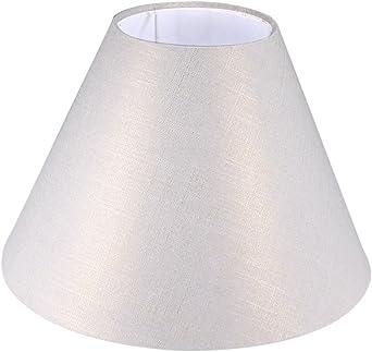 Sourcingmap - Pantalla para lámpara de pie (4,3 x 10,2 x 6,7 pulgadas), color beige: Amazon.es: Iluminación