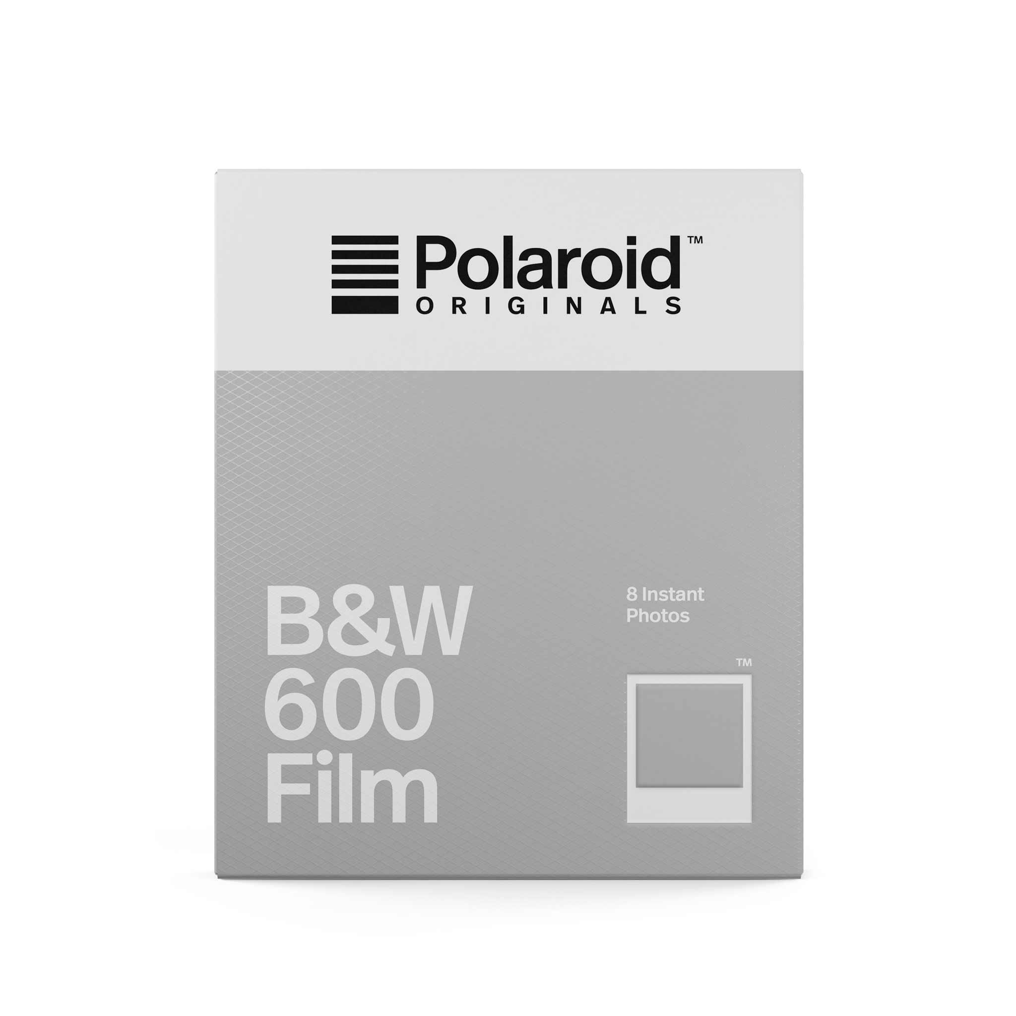 Polaroid Black And White 600 Film White