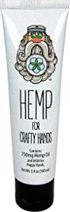 Karma Cure Hemp for Crafty Hands, 3.4 oz Tube containing 750 MG of Organic Hemp Oil