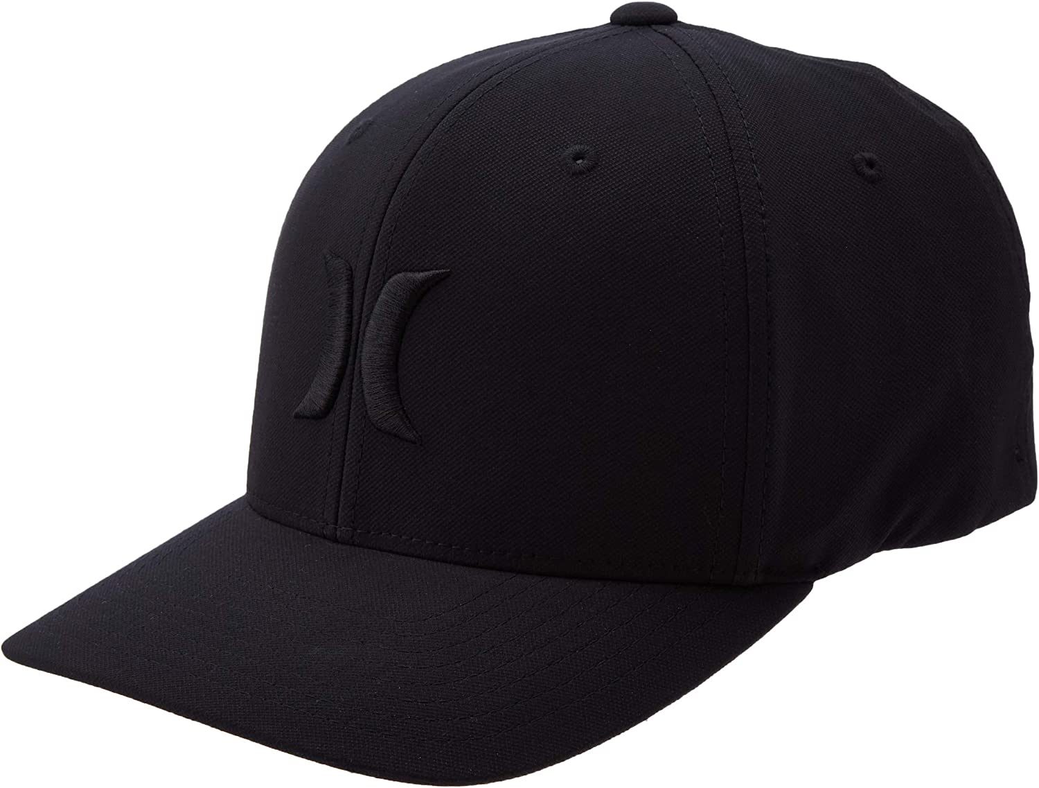 Hurley Men's Dr-fit One & Only Flexfit Baseball Cap: Clothing